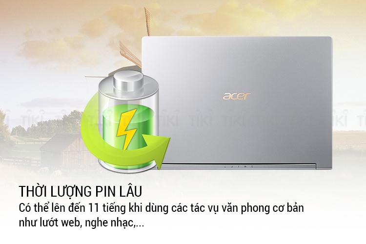 Laptop Acer Swift 3 SF314-56-50AZ NX.H4CSV.008 Core i5-8265U/ Win10 (14 FHD IPS) - Hàng Chính Hãng