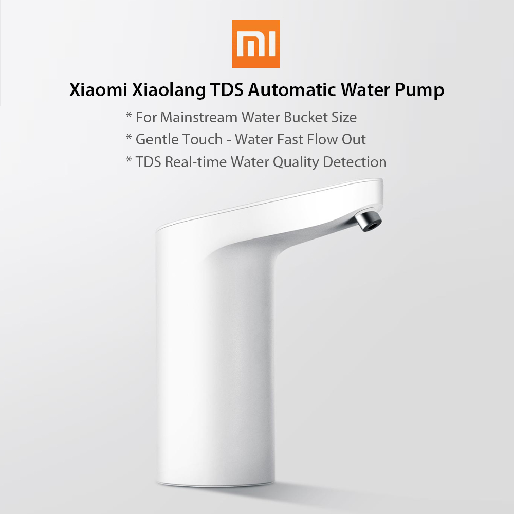 Vòi Nước Cảm Ứng Tự Động Mini Không Dây USB Có Thể Sạc Lại Xiaomi Xiaolang Tds Trắng