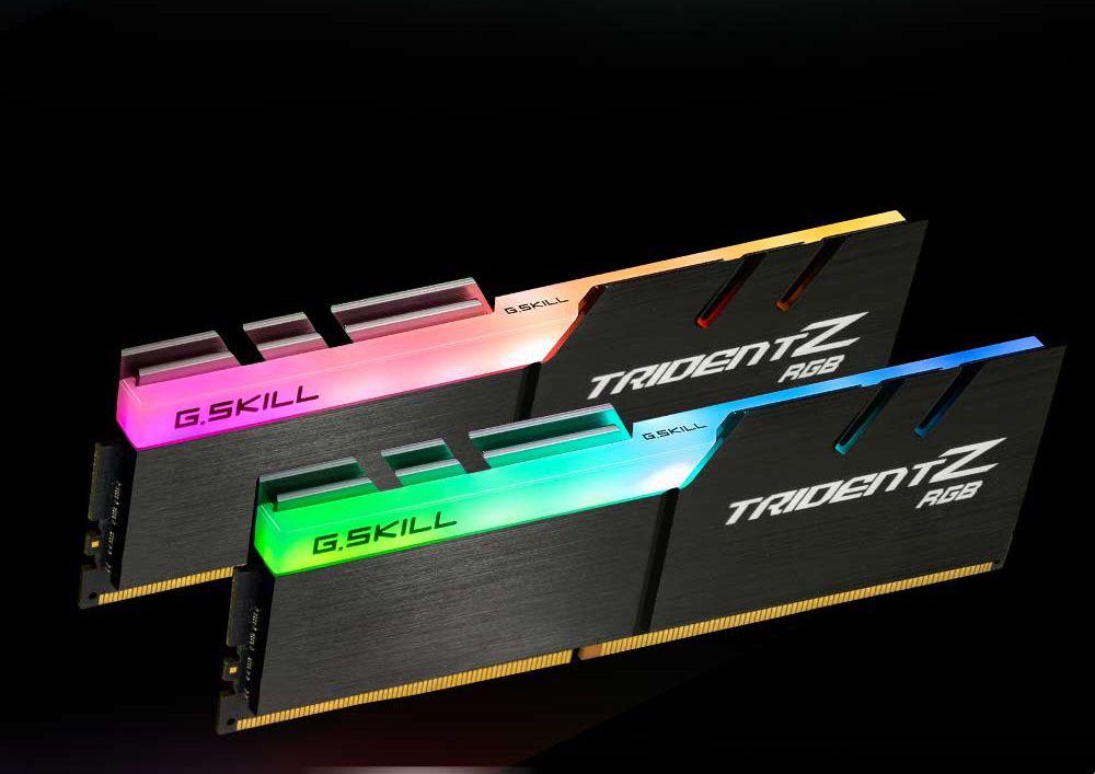 RAM Gskill Trident Z RGB 16GB (2x8GB) DDR4 Bus 3000Mhz