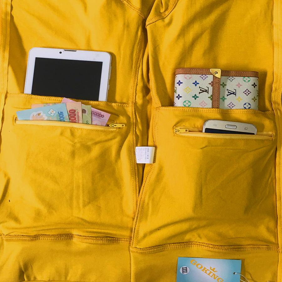 Áo khoác nữ thoát nhiệt Nhật Bản GOKING, áo chống nắng 100% cotton thoáng mát, thấm hút mồ hôi 4