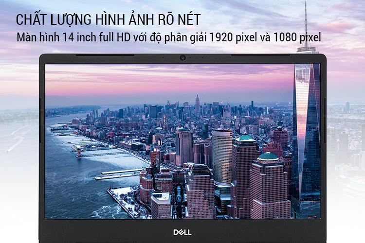 Laptop Dell Vostro 5481 V5481A Core i5-8265U/ MX130 2GB/ Win10 + Office365 (14 FHD IPS) - Hàng Chính Hãng