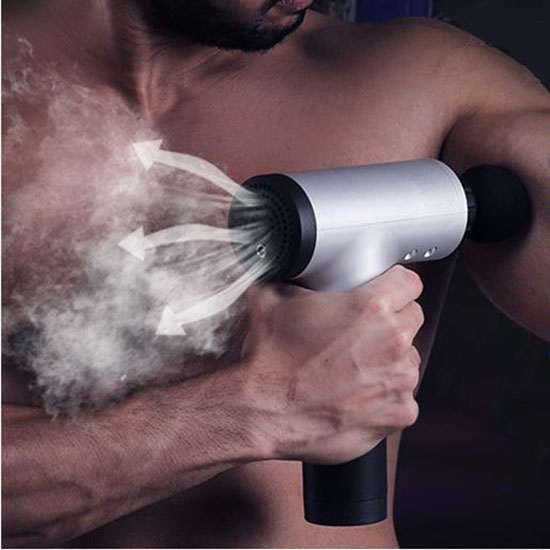 Máy massage cầm tay tiện lợi giúp giãn cơ bắp, thư giãn, lưu thông máu 1