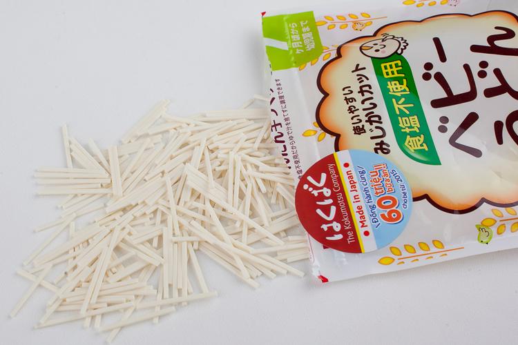 Mỳ ăn dặm Baby Udon HakuBaku 100g (Dành cho bé từ 7 tháng)
