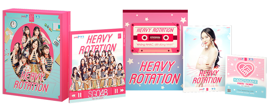 1st Single SGO48: Heavy Rotation