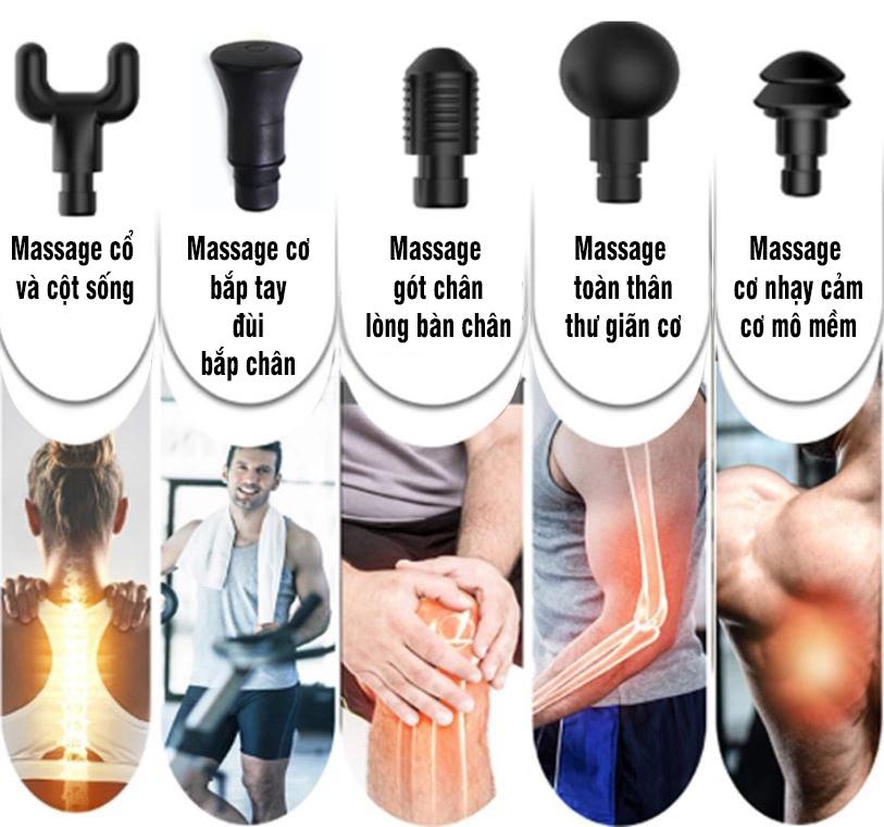Máy massage điều trị đau cơ bắp căng cơ Booster T - 126W