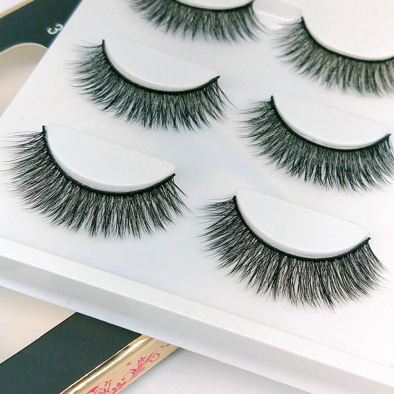 Lông mi giả lông chồn 3 Fashion Eyelashes 3 Faux-Cils 3D 1 bộ 3 cặp 27
