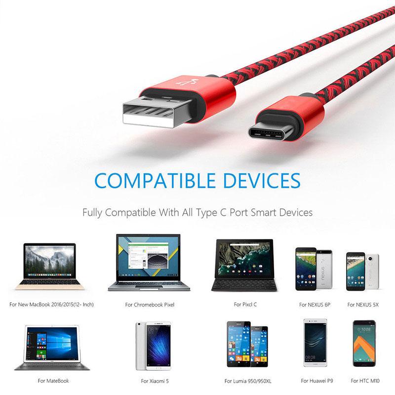 Dây Cáp Type-C USB 2.0 2m