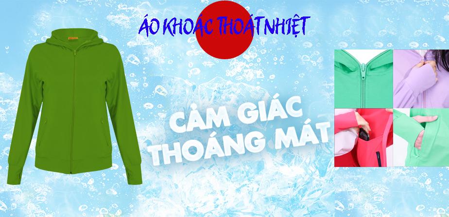 Áo khoác nữ thoát nhiệt Nhật Bản GOKING, áo chống nắng 100% cotton thoáng mát, thấm hút mồ hôi 8