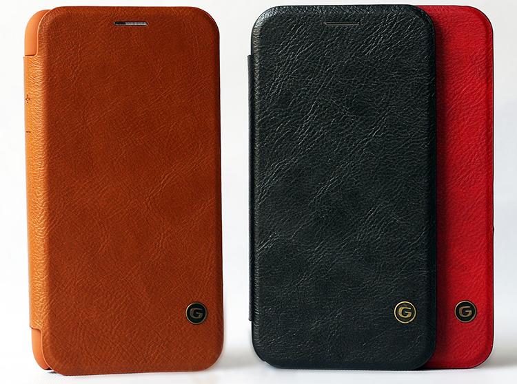 Bao Da Dành Cho iPhone X Trơn Màu G-Case