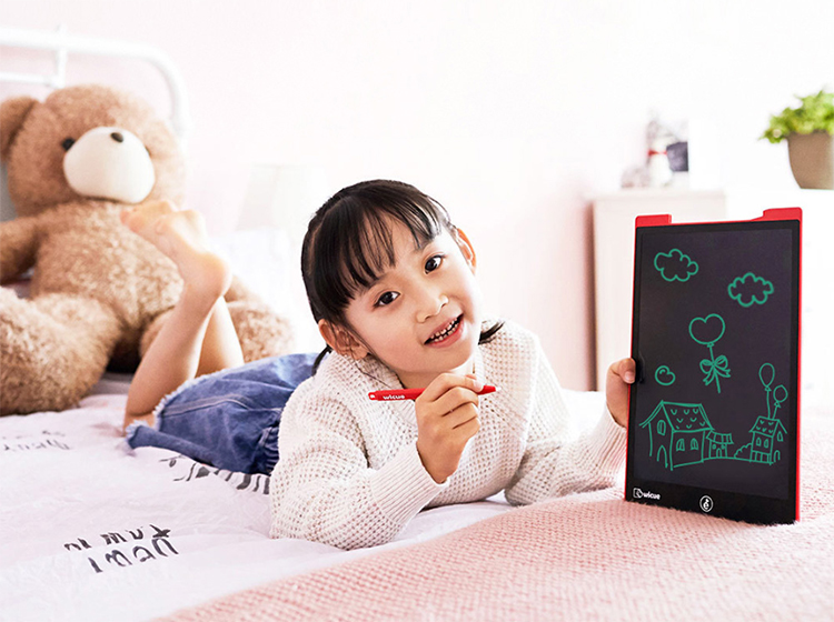 Xiaomi Wicue Writing Drawing Tablet 12inch LCD Digital Handwriting Pads Portable Electronic Graphic Board Eye Protection - Red