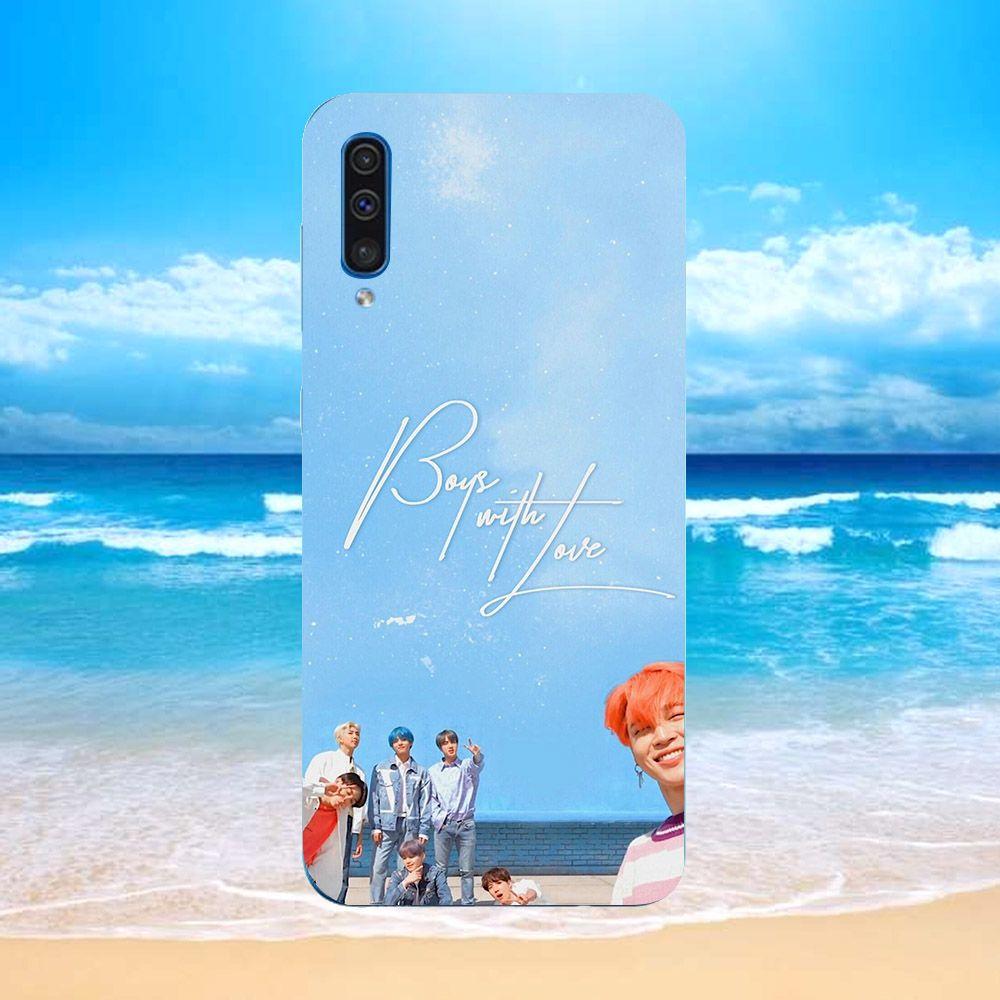 Ốp điện thoại dành cho máy Samsung Galaxy A7 2018/A750 - bts MS BTSND1002