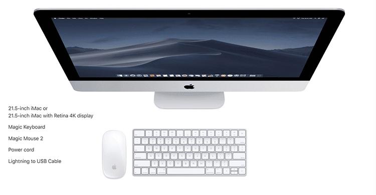 Apple iMac 2019 MRT32 21.5 inch 4K - Hàng Chính Hãng