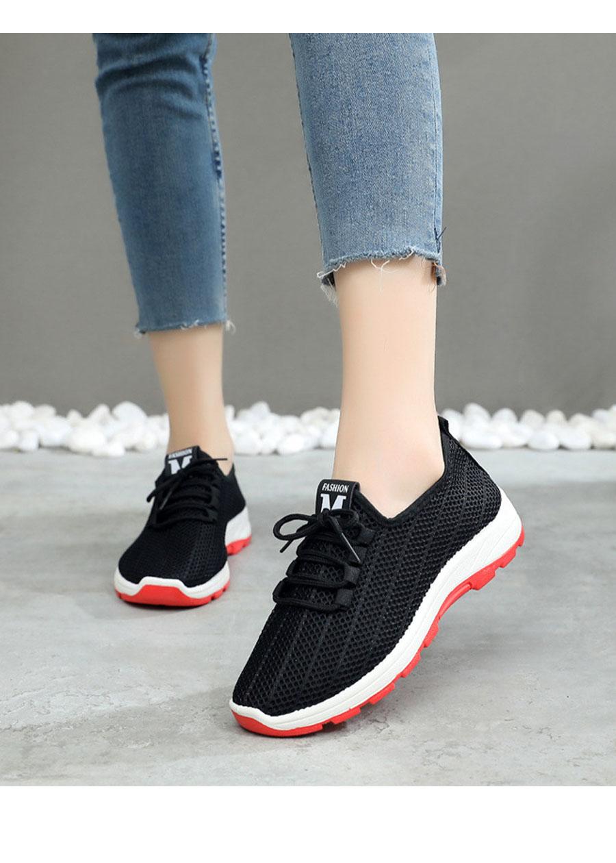 Giày sneaker nữ phong cách thể thao thoáng khí 197 4