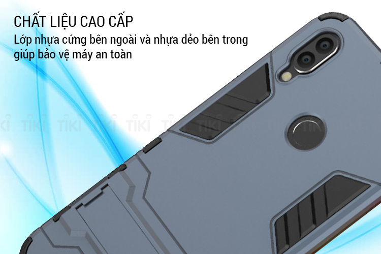 Ốp lưng cho Xiaomi Redmi Note 7 / Note 7 Pro iRon Man PC cứng