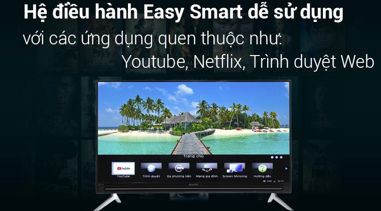 Smart Tivi Sharp 32 inch LC-32SA4500X - Hàng chính hãng