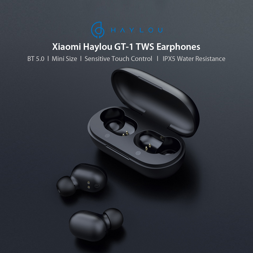 Xiaomi Haylou GT1 Mini TWS Earphone Touch Control Wireless BT 5.0 Earbuds Handsfree Sport Headphone Noise Canceling Gaming Headset Binaural Call