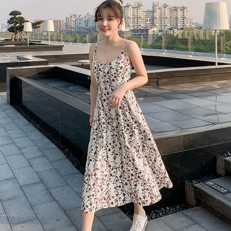 Váy 2 dây dáng dài, chất liệu vải cao cấp nhẹ nhàng thoáng mát,phù hợp đi biển đi chơi ngày hè 7