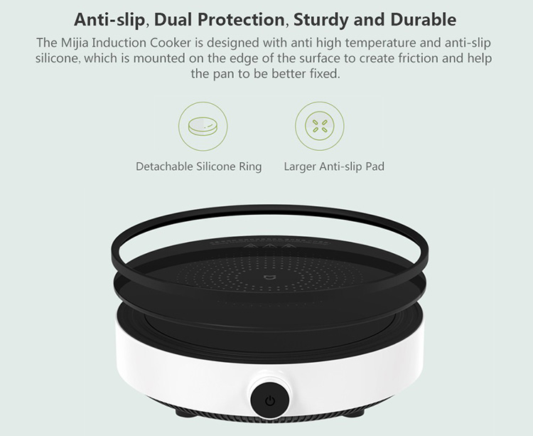 Xiaomi Mijia Induction Cookers Youth Version Mi Home Smart Creative Precise Control Induction Plate Tile Hot Pot App
