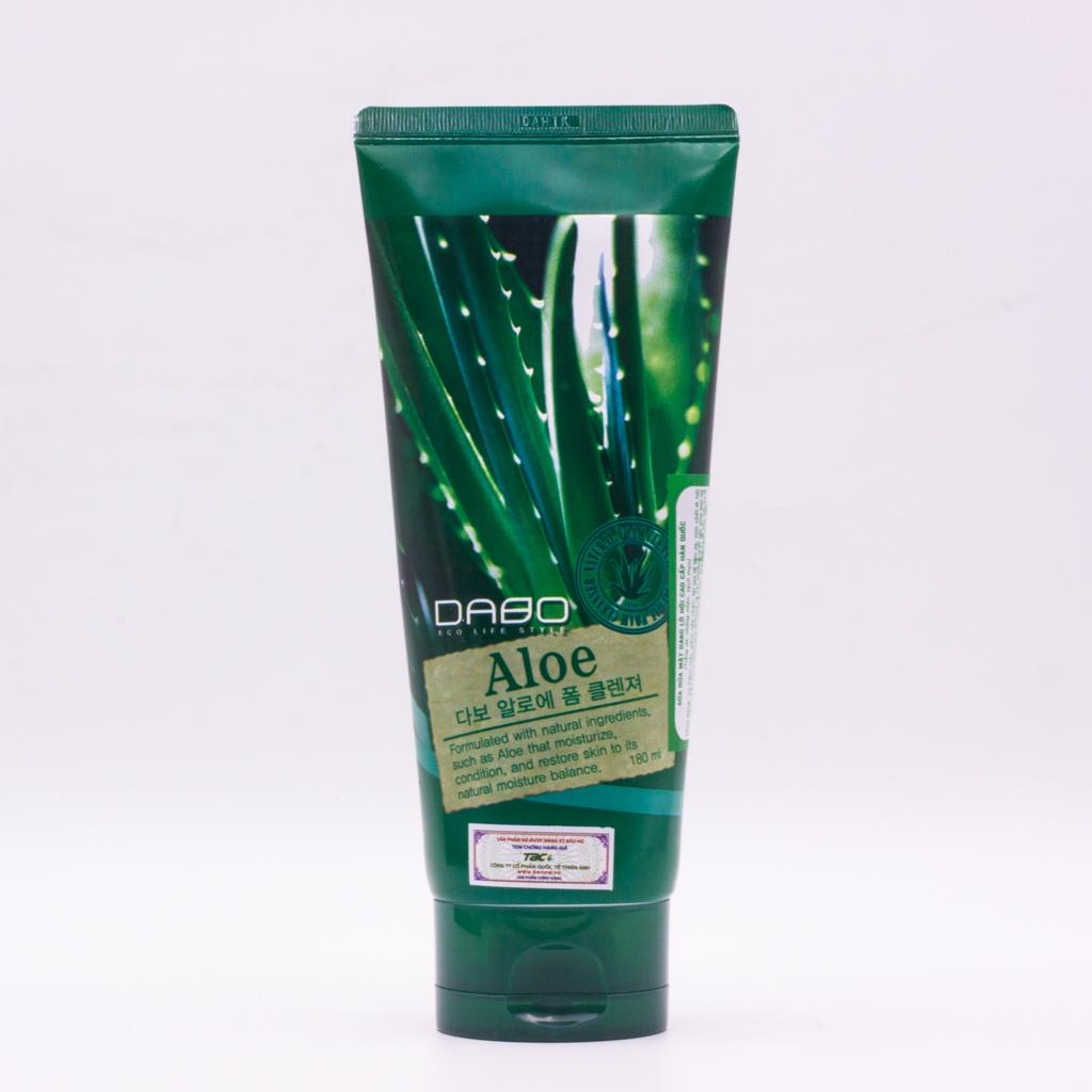 Sữa rửa mặt Aloe Dabo