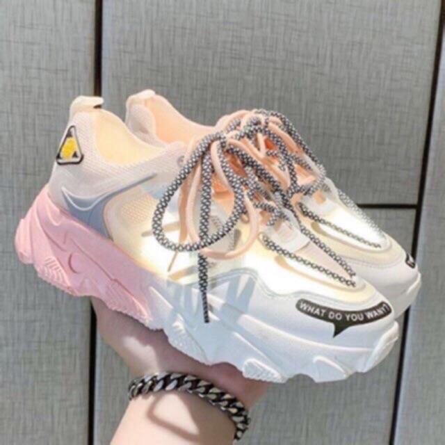 Giày thể thao nữ đế phối 1 2 màu cực chất 7