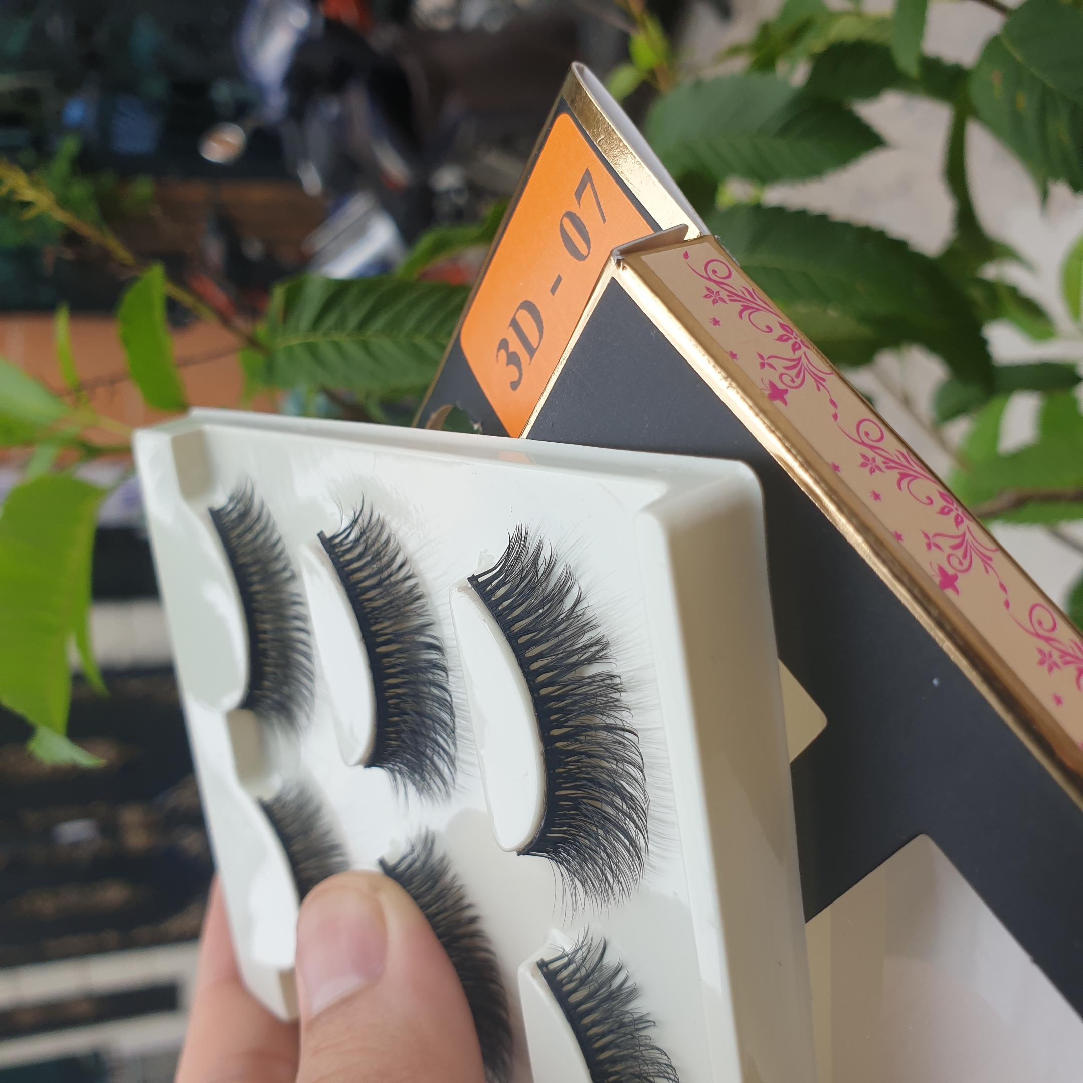 Lông mi giả lông chồn 3 Fashion Eyelashes 3 Faux-Cils 3D 1 bộ 3 cặp 29