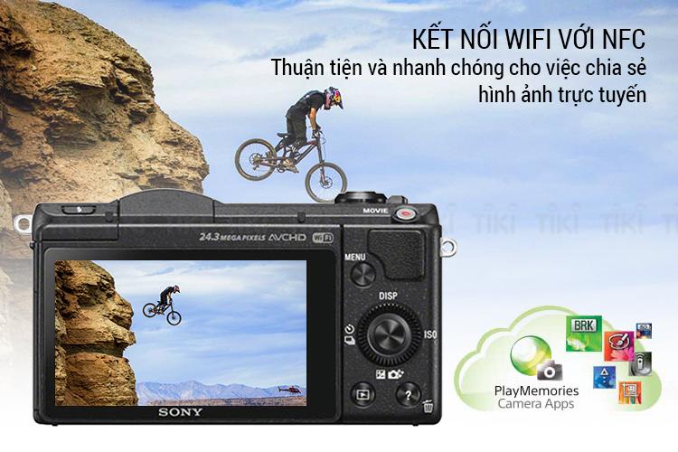 Máy Ảnh Sony Alpha A5100 + Lens 16-50mm
