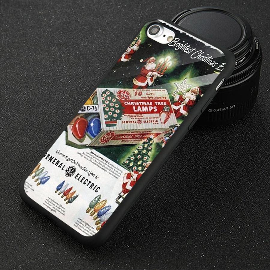 Ốp kính cường lực cho điện thoại iPhone 7 / 8 - giáng sinh đầm ấm MS GSDA015