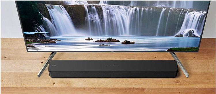 Sony SONY HT-S100F Wireless Bluetooth Integrated Echo Wall Dolby Surround Audio Technology S-Master Audio Speaker Home Theater
