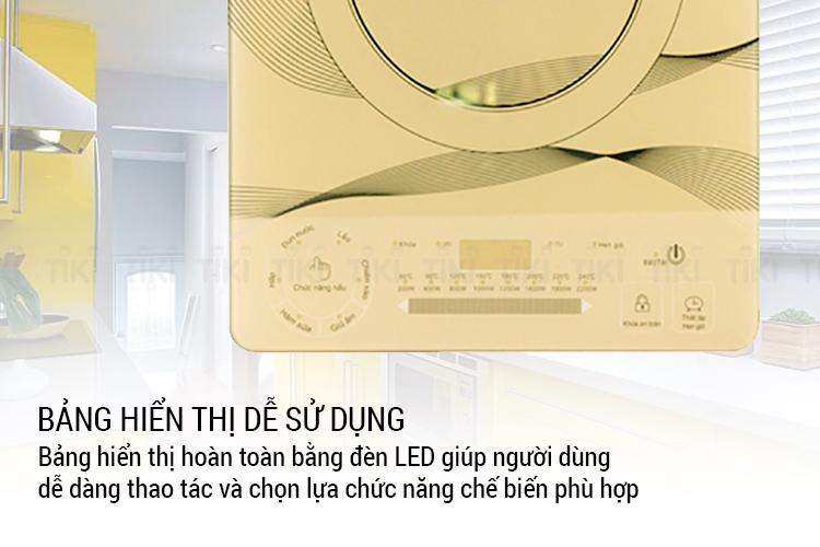Bếp Điện Từ Cảm Ứng Sunhouse SHD6866 (2200W) - Kèm Nồi Lẩu - Hàng Chính Hãng