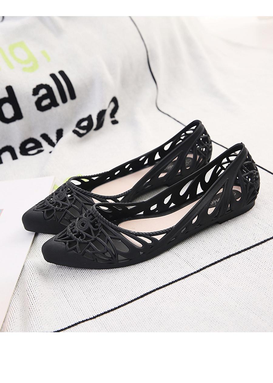 Giày búp bê nữ nhựa đi mưa siêu xinh 221 4