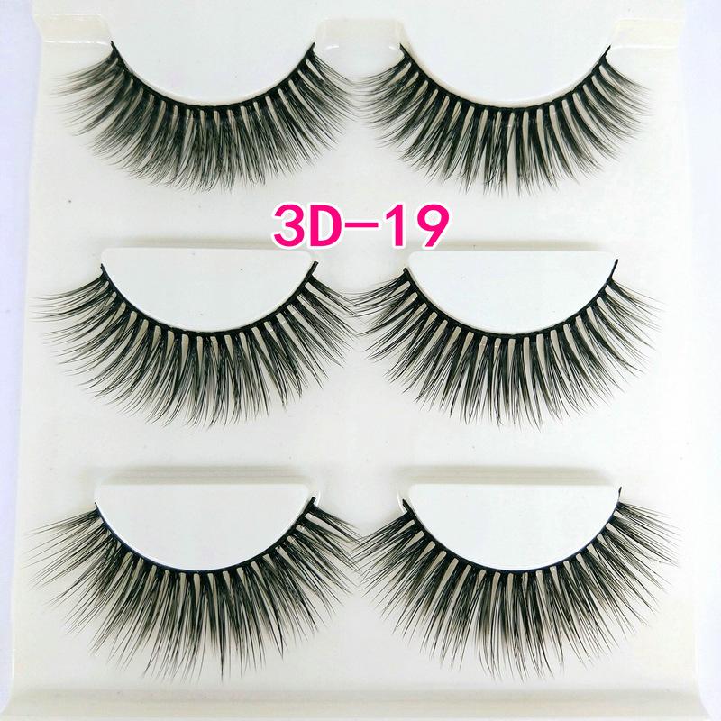 Lông mi giả lông chồn 3 Fashion Eyelashes 3 Faux-Cils 3D 1 bộ 3 cặp 74