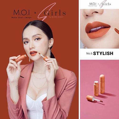 Son môi M.O.I kem lì Sgirls by Hương Giang Hồ Ngọc Hà (chính hãng) 8