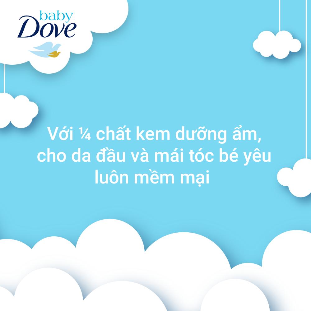 Sữa tắm gội toàn thân Baby Dove Nuôi Dưỡng Chuyên Sâu