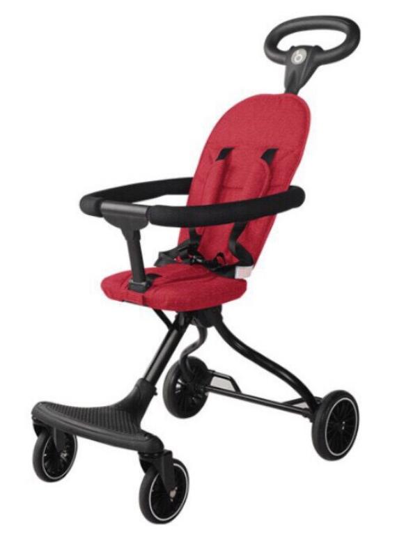 Xe đẩy đi dạo cao cấp gấp gọn nhẹ, ghế ngồi đệm V2 2