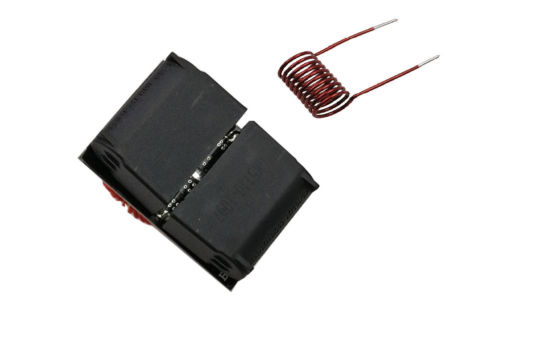 Mạch Nung Cao Tần ZVS Mini 120W 5V-12VDC ( tặng 02 kẹp nút dây điện) 3