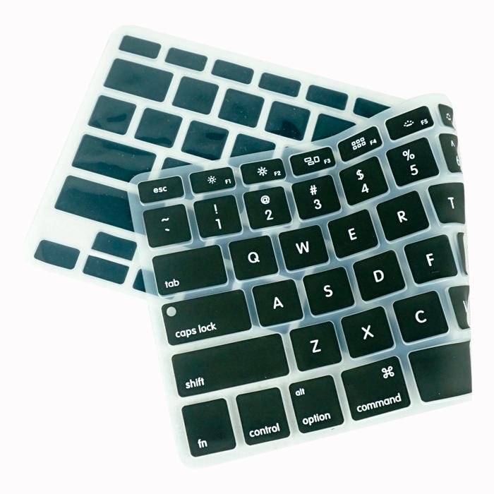 Lót bàn phím in chữ cho Macbook Alphabet Silicone Skin Keyboard - Hàng Chính Hãng 1