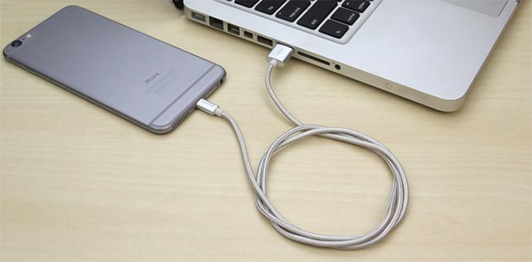 Cáp Sạc iPhone/iPad Romoss Lightning Cao Cấp Cable CB12N - Hãng Phân Phối Chính Thức