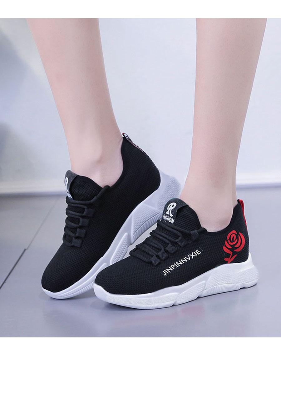 Giầy sneaker nữ buộc dây V201 3