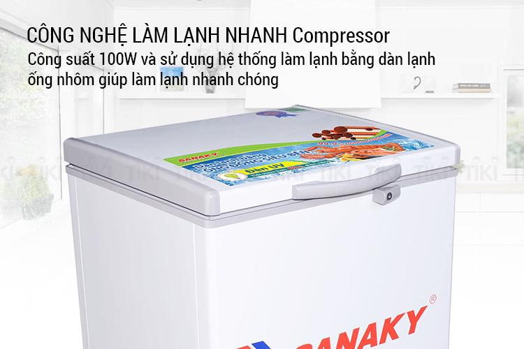 Tủ Đông Sanaky VH-150HY2 (100L)