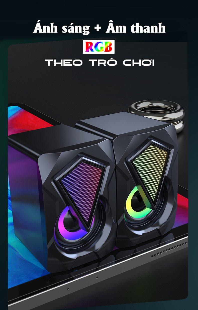 Loa OOE SUPER BASS 2021 Âm Thanh Vòm 3D Phiên Bản Đặc Biệt, Dùng Cho Máy Tính, Laptop, PC, Tivi - Hàng Chính Hãng 3