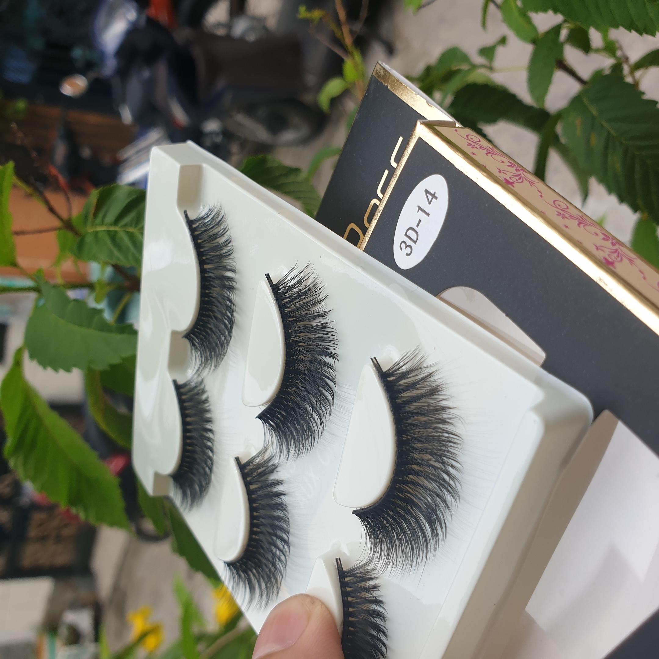 Lông mi giả lông chồn 3 Fashion Eyelashes 3 Faux-Cils 3D 1 bộ 3 cặp 57