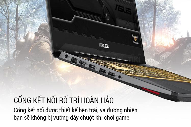 Laptop Asus TUF Gaming FX505GE-BQ049T Core i5-8300H/ Win10 (15.6 FHD IPS) - Hàng Chính Hãng