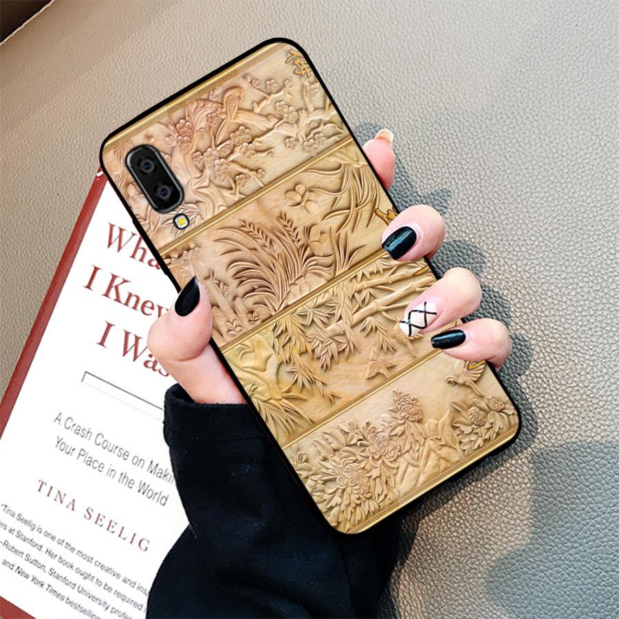 Ốp điện thoại dành cho máy Samsung Galaxy A70 - hình Điêu Khắc MS DKHAC020