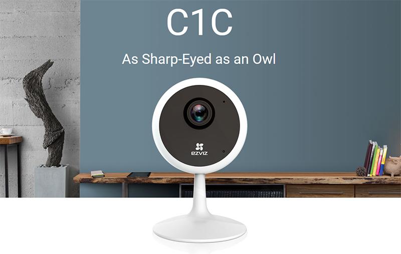 Camera IP camera WIFI EZVIZ C1C 1M - Đàm thoại 2 chiều - hàng nhập khẩu 5