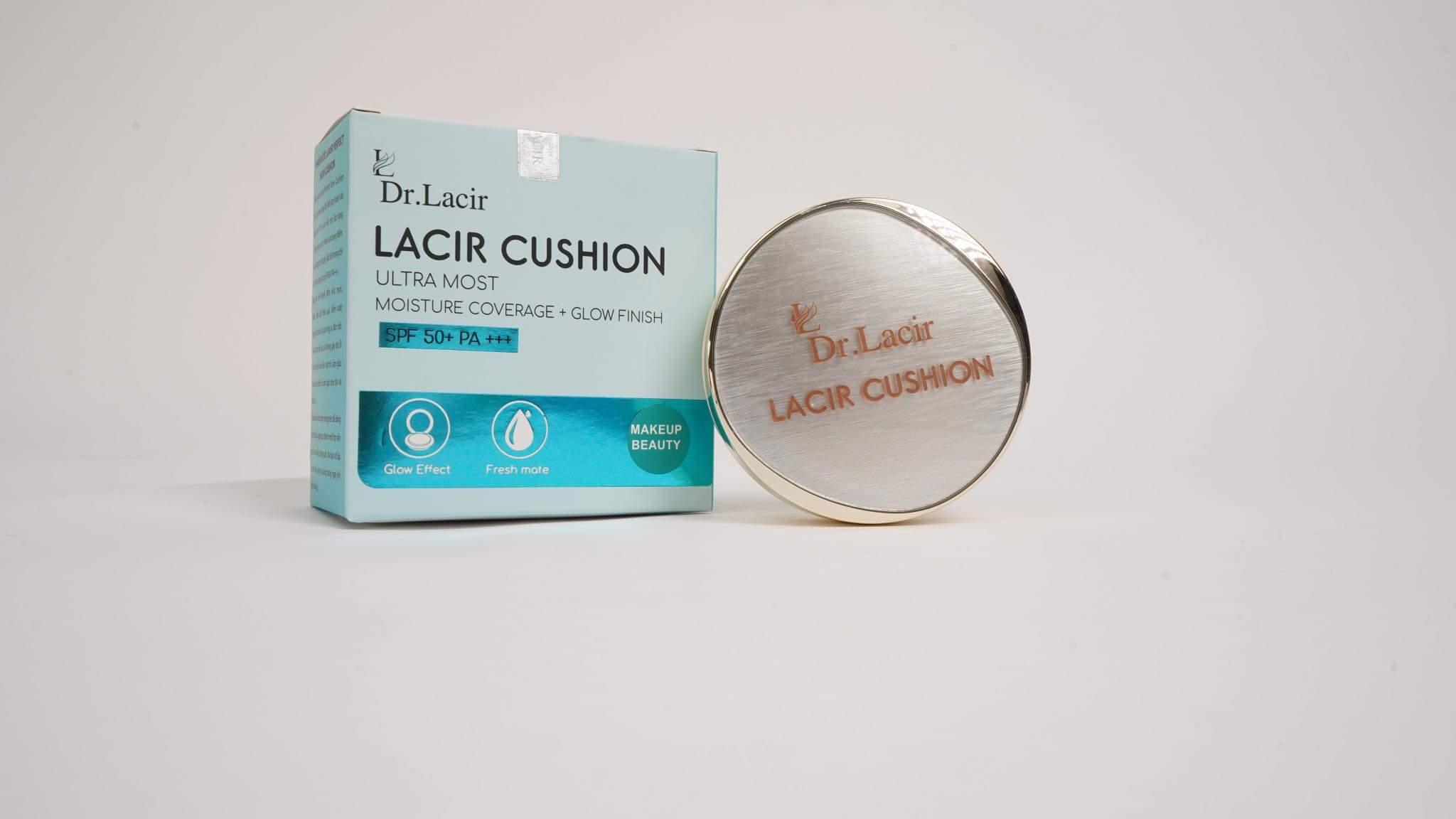 Phấn Lạnh Mỏng Mịn, Che Phủ Tốt, Lâu Trôi Lacir Cushion Dr Lacir SPF50+ PA+++ 1