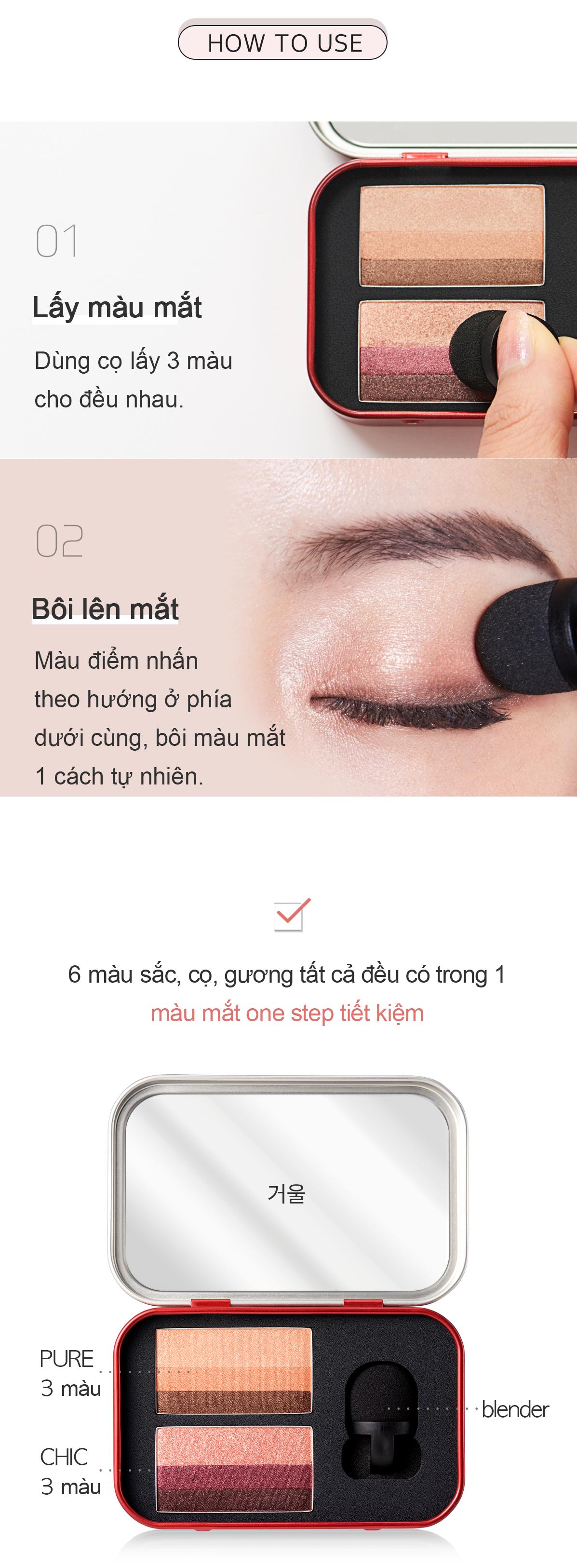 Màu mắt Aprilskin Perfect Magic Dual Eyeshadow 6