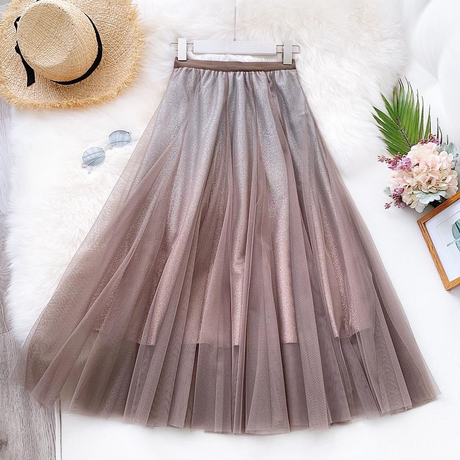 Váy xòe lưới tutu loang mầu lấp lánh VAY53 10