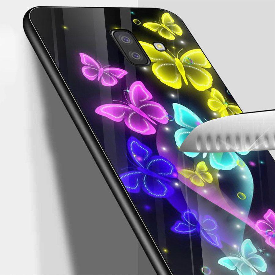Ốp kính cường lực cho điện thoại Samsung Galaxy J4 - J6 - J6 PLUS - J6 PRIME - J8 - bướm đẹp MS ANH082