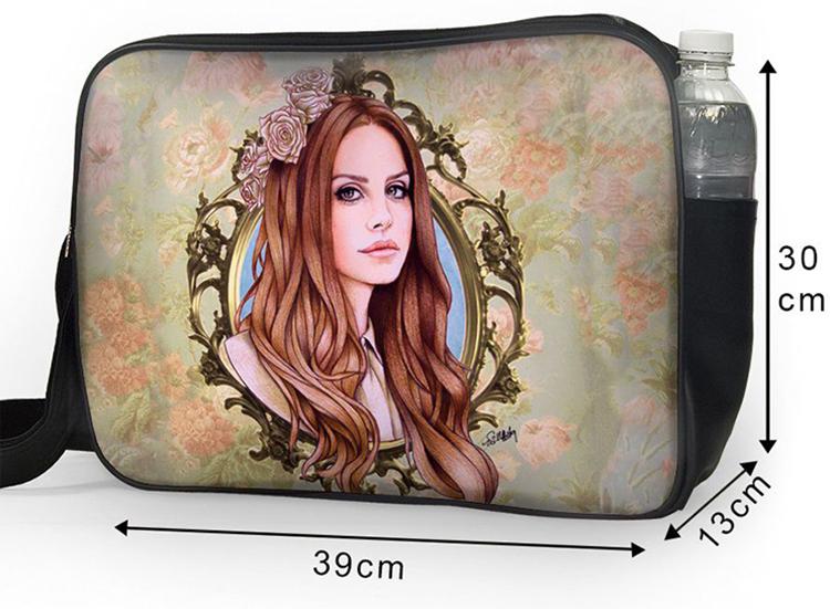 Túi Đeo Chéo Hộp Unisex Lana Del Rey Art - Tcup022