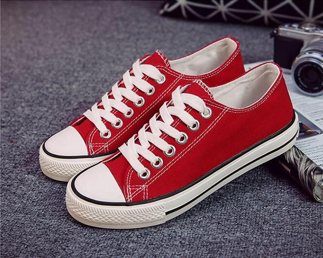 Giày Vải Thời Trang Sneaker Nam Nữ Thể Thao Thấp Cổ CV9 3